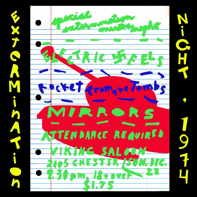 extermination nite art